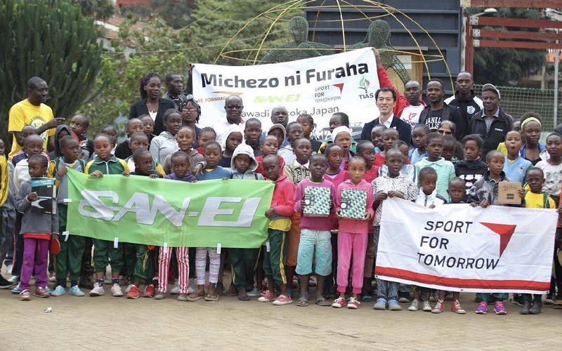 【Kenya】Table Tennis Tables Donated as a Part of Support in Kenya1