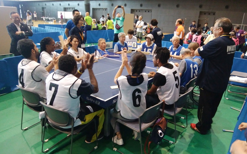 International Exchange Programme through Takkyu Volleyball in Kuji City1