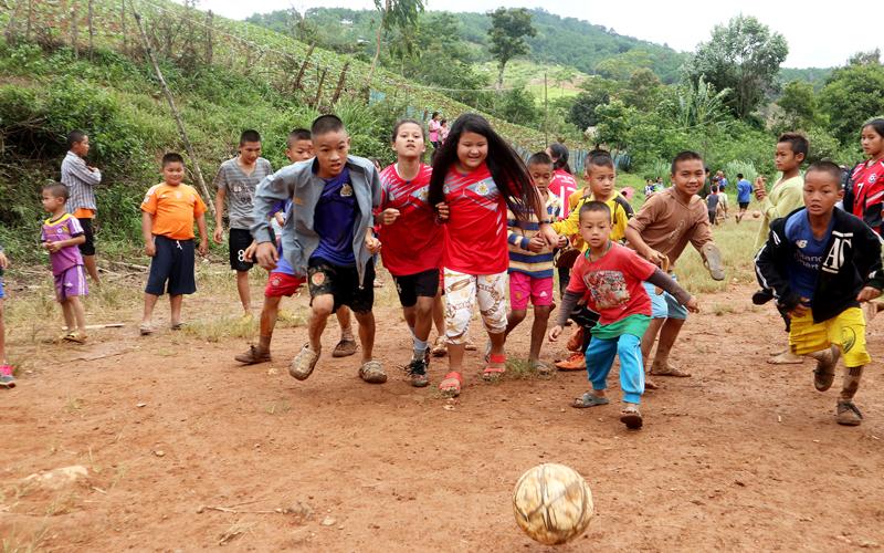 2018年ウンピアム難民キャンプサッカーフェスティバル3
