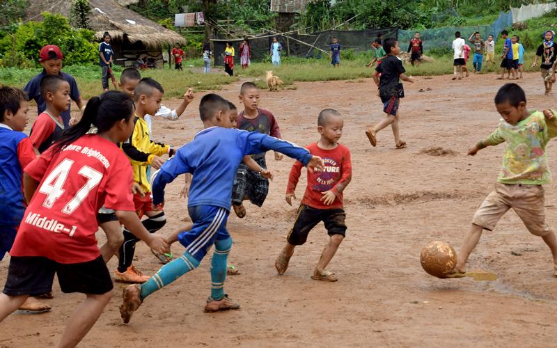 2018年ウンピアム難民キャンプサッカーフェスティバル4