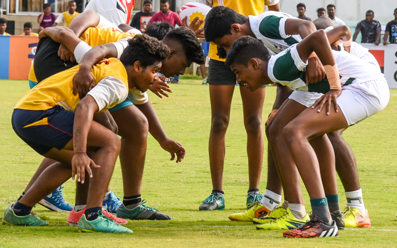 【India & Sri Lanka】 Rugby Friendship Match, Japan Overseas Cooperation Volunteers2