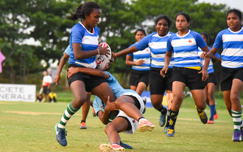 【India & Sri Lanka】 Rugby Friendship Match, Japan Overseas Cooperation Volunteers3