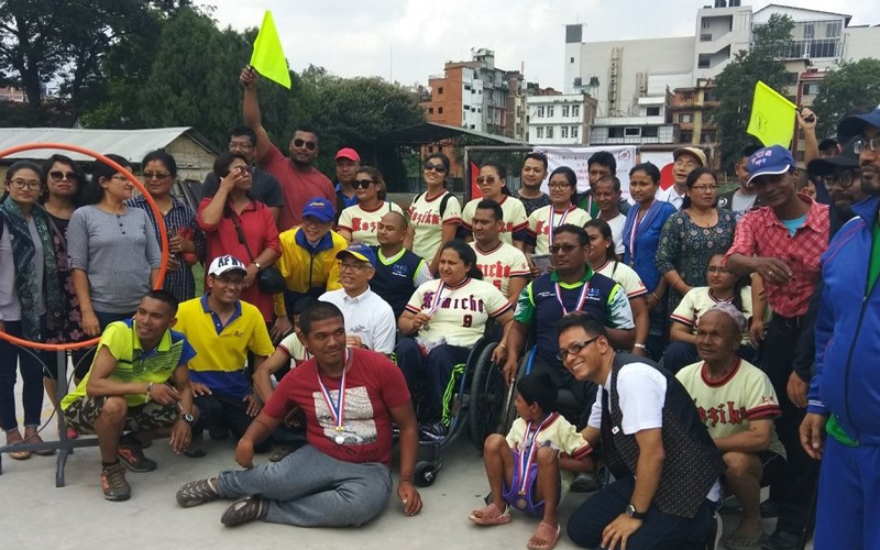 【Nepal】Sports Exchange Program for Persons with Impairments2
