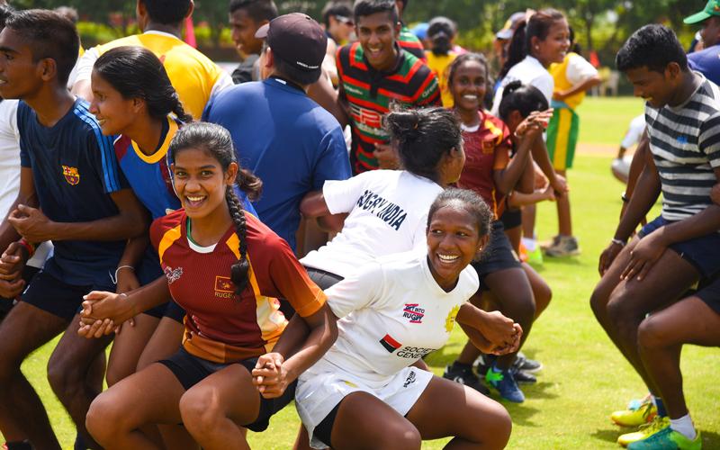 【India & Sri Lanka】 Rugby Friendship Match, Japan Overseas Cooperation Volunteers1