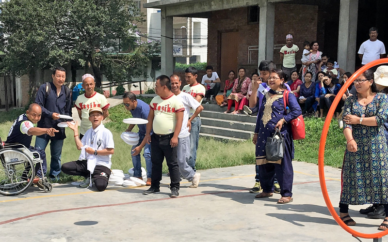 【Nepal】Sports Exchange Program for Persons with Impairments3