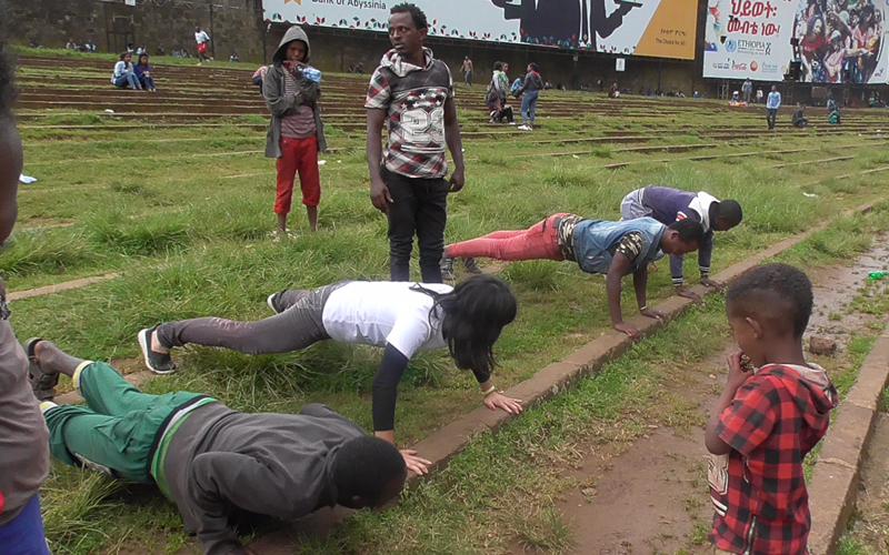 【Ethiopian】Cheerleading Experience at Ethiopian Hospital4