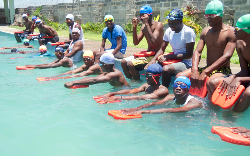 【Zambia】Swimming Goods Collection Project at Central Sports Children's Swimming Challenge2