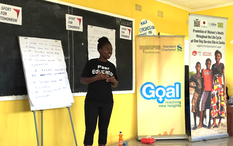 【Zambia】Project for Empowerment through Sports for Adolescent Women in Zambia3