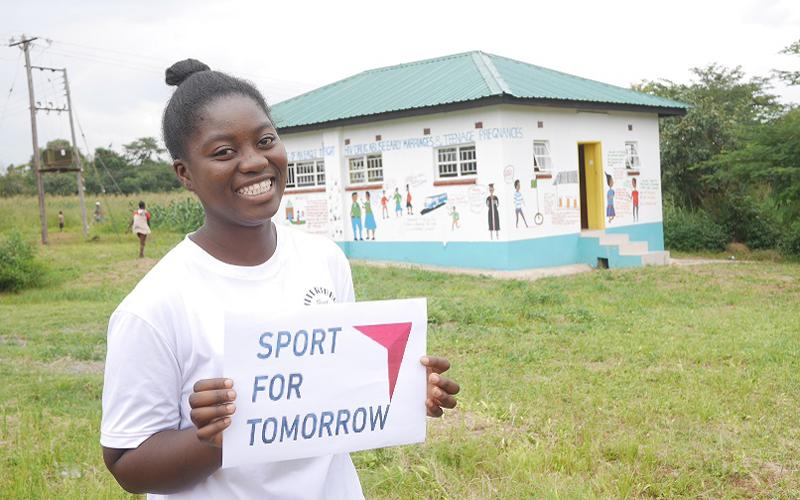 ザンビアにおける思春期の女性を対象にしたスポーツを通じたエンパワメントプロジェクト1