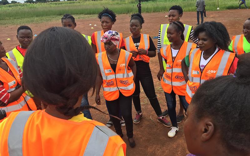 ザンビアにおける思春期の女性を対象にしたスポーツを通じたエンパワメントプロジェクト5