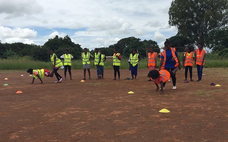 【Zambia】Project for Empowerment through Sports for Adolescent Women in Zambia4