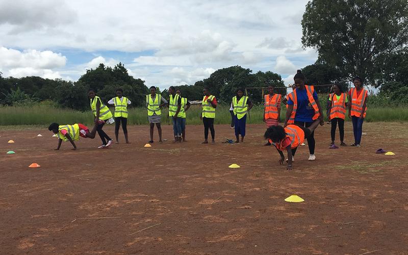 ザンビアにおける思春期の女性を対象にしたスポーツを通じたエンパワメントプロジェクト4
