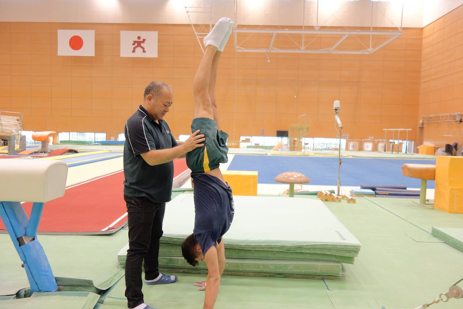 Japan Sports Agency Commissioned Project: JSC/JOC/NF Use Nishigaoka High Performance Center and Other Facilities for Collaboration Project (Gymnastics, South Africa)2