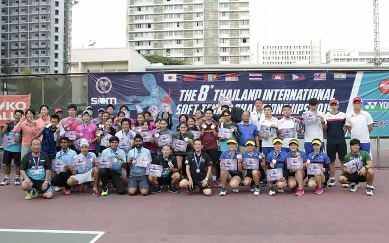 The 8th Thailand International Soft Tennis Championships (2019)1