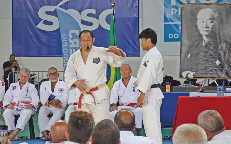 Japan Sports Agency Commissioned Project: Support for Introducing Judo to Public Education in Brazil — Dispatching Judo Instructors2