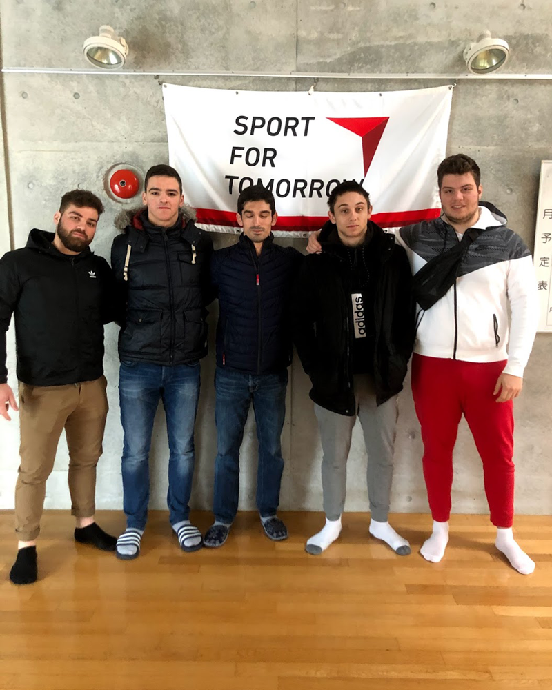 International Budo University's Support Programme for International Trainees in Martial Arts and Sports 20181