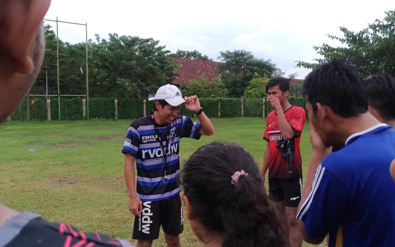 Japan Overseas Cooperation Volunteers Project Report:<br/>Programmes for Rugby Promotion and Athletic Performance Improvement in Indonesia2