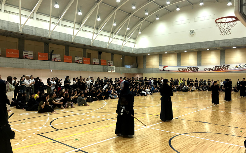 Kendo Experience Tour for Travellers from Abroad: 252 Participants at Toin University of Yokohama2