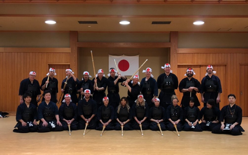 Samurai Trip: Kendo Experience Tour for Travellers from Abroad 2018-20193