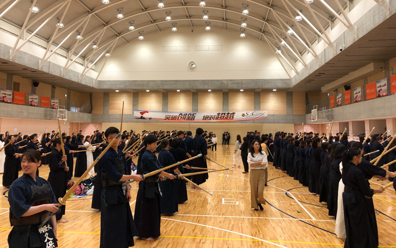 Kendo Experience Tour for Travellers from Abroad: 252 Participants at Toin University of Yokohama3