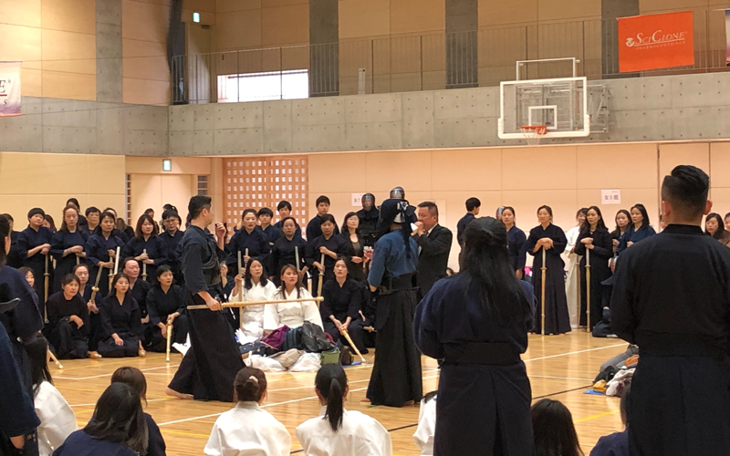 Kendo Experience Tour for Travellers from Abroad: 252 Participants at Toin University of Yokohama5