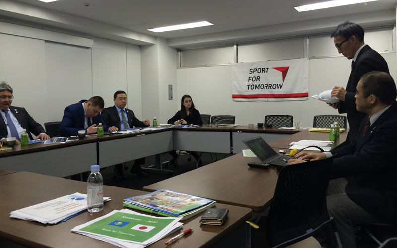 【Kazakhstan】Workshop on Organizational Management for the Kazakhstan Paralympic Committee2