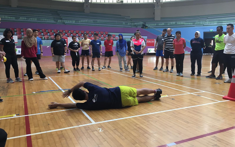 "【Singapore】Teachers' Training with the Paralympic Textbook ""I'm POSSIBLE"" in Singapore2"