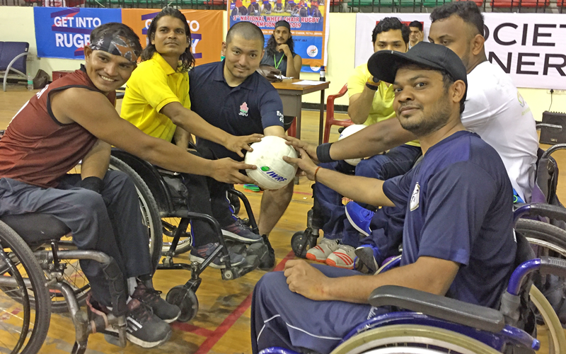 【India】Project Consigned by the Japan Sports Agency:<br/>JSC-JRFU Collaborative Rugby International Competition Project4