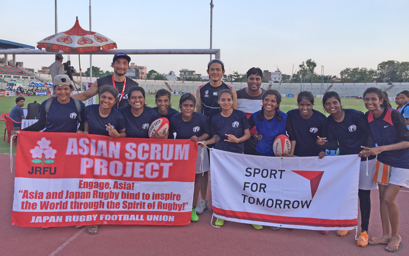 【India】Project Consigned by the Japan Sports Agency:<br/>JSC-JRFU Collaborative Rugby International Competition Project1