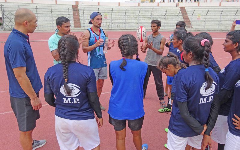 【India】Project Consigned by the Japan Sports Agency:<br/>JSC-JRFU Collaborative Rugby International Competition Project3