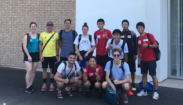 【スポーツ庁委託事業】JSC-JOC-NFによる宮崎シーガイアトライアスロンNTCを活用した連携プログラム(オーストラリア・トライアスロン)4
