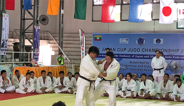 【Myanmar】Japan Sports Agency Commissioned Project International Cultural Exchange Sports Programmes in cooperation with the 15th Judo Japan Cup Cultural Programme  co-hosted by the Embassy of Japan in Myanmar and the Myanmar Judo Federation2
