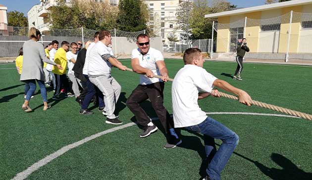 【Bosnia-Herzegovina】The Project for Confidence Building through Physical Education of JICA2