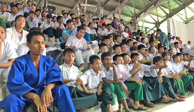 【Myanmar】Japan Sports Agency Commissioned Project International Cultural Exchange Sports Programmes in cooperation with the 15th Judo Japan Cup Cultural Programme  co-hosted by the Embassy of Japan in Myanmar and the Myanmar Judo Federation5