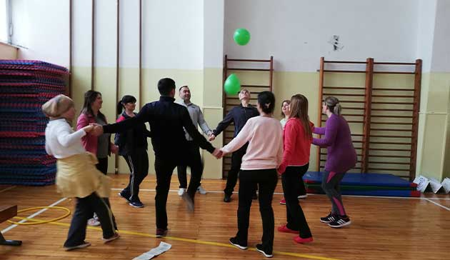 【Bosnia-Herzegovina】The Project for Confidence Building through Physical Education of JICA1