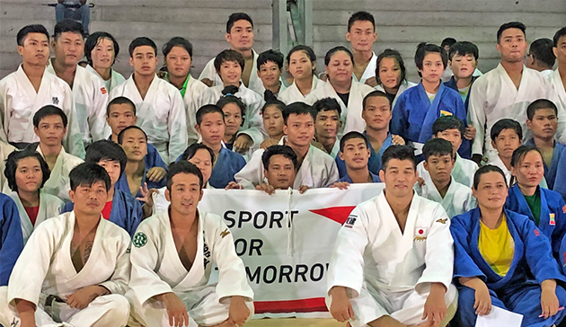 【Myanmar】Japan Sports Agency Commissioned Project International Cultural Exchange Sports Programmes in cooperation with the 15th Judo Japan Cup Cultural Programme  co-hosted by the Embassy of Japan in Myanmar and the Myanmar Judo Federation1