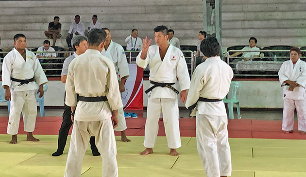 【Myanmar】Japan Sports Agency Commissioned Project International Cultural Exchange Sports Programmes in cooperation with the 15th Judo Japan Cup Cultural Programme  co-hosted by the Embassy of Japan in Myanmar and the Myanmar Judo Federation3