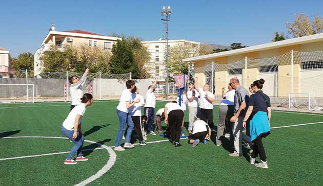 【Bosnia-Herzegovina】The Project for Confidence Building through Physical Education of JICA4