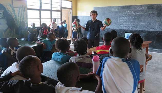 【青年海外協力隊活動レポート】ルワンダ共和国の子供たちにバレーボールの楽しさを!2