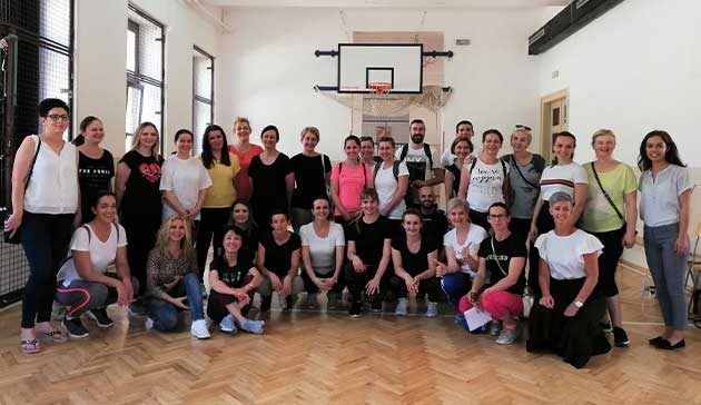 【Bosnia-Herzegovina】The Project for Confidence Building through Physical Education of JICA3