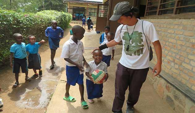 【青年海外協力隊活動レポート】ルワンダ共和国の子供たちにバレーボールの楽しさを!3