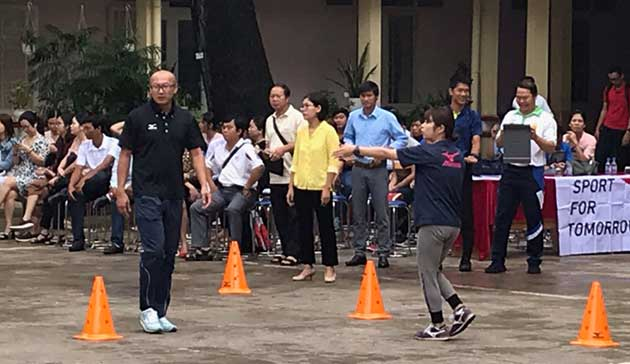 【Vietnam】Project for introducing, spreading and promoting the Mizuno Hexathlon Exercise in primary compulsory education3