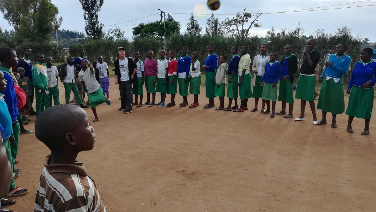 【青年海外協力隊活動レポート】ルワンダ共和国の子供たちにバレーボールの楽しさを!4