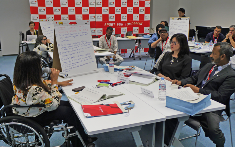 【Japan】Japan Sports Agency Commissioned Project Workshop for enhancing participation of Asian female para-athletes: A collaboration programme of the IPC, APC, JPC and JSC2