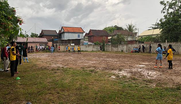 ガールズサッカーフェスタ2019 イン カンボジア2