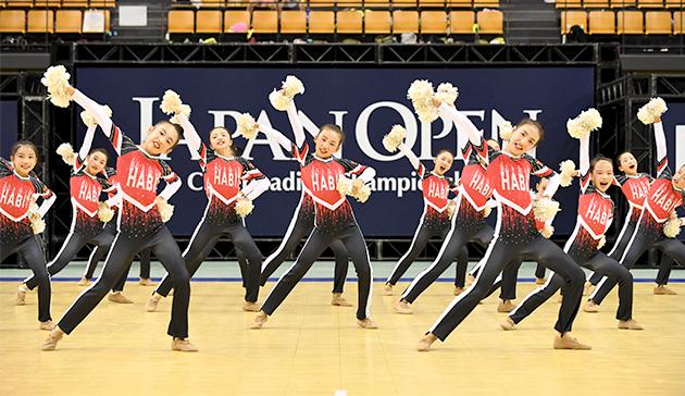 2019 JAPAN OPEN Cheerleading Championship2