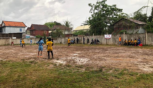 ガールズサッカーフェスタ2019 イン カンボジア1