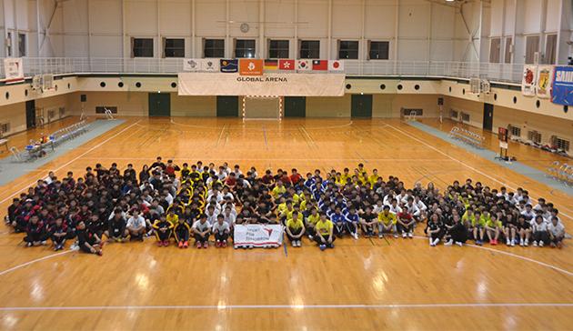 サニックスカップU-17国際ハンドボール交流大会20193