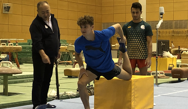 Japan Sports Agency Commissioned Project: JSC/JOC/NF Use Nishigaoka High Performance Center and Other Facilities for Collaboration Project (Gymnastics, South Africa)5