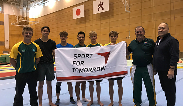 Japan Sports Agency Commissioned Project: JSC/JOC/NF Use Nishigaoka High Performance Center and Other Facilities for Collaboration Project (Gymnastics, South Africa)1
